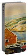 Peggys Cove  Harbor View Portable Battery Charger