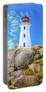 Peggy's Cove Light House Portable Battery Charger