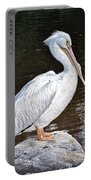 Pelican On Black Portable Battery Charger