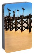 Pelican Pier Near Pass Christian - Mississippi Portable Battery Charger