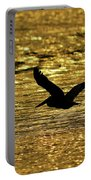 Pelican Silhouette - Golden Gulf Portable Battery Charger