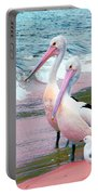 Pelicans At Pearl Beach 5.1 Portable Battery Charger