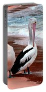 Pelicans At Pearl Beach 5.2 Portable Battery Charger