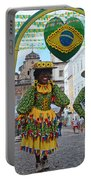 Pelourinho - Historic Center Of Salvador Bahia Portable Battery Charger
