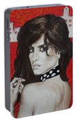 Penelope Cruz Portable Battery Charger