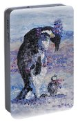 Penguin Love Portable Battery Charger