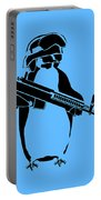 Penguin Soldier Portable Battery Charger by Pixel Chimp