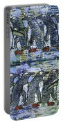 Penguins On Parade Portable Battery Charger