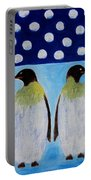 Penguins Talking Portable Battery Charger
