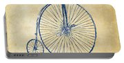 Penny-farthing 1867 High Wheeler Bicycle Vintage Portable Battery Charger