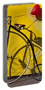 Penny Farthing Love Portable Battery Charger