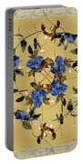 Penny Postcard Silk-stitched Portable Battery Charger