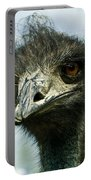Pensive Ostrich Portable Battery Charger