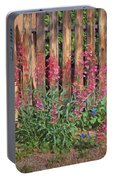 Penstemon - Adobe - Fence Portable Battery Charger