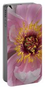 Peonie In Pink Portable Battery Charger