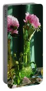 Peonies #4 Portable Battery Charger