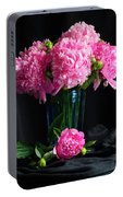Peonies - Beauty The Brave Portable Battery Charger