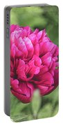Peony 1162 Textured Portable Battery Charger