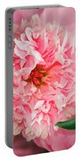 Peony And Bud Portable Battery Charger