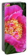 Peony At Bourne Farm Portable Battery Charger