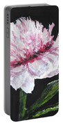 Peony Bloom Portable Battery Charger