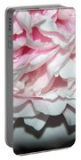 Peony Petals Portable Battery Charger