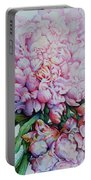 Peony Pink Parfait  Portable Battery Charger