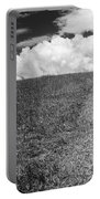 People On The Hill Bw Portable Battery Charger