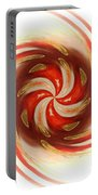 Pepermint Swirl Portable Battery Charger