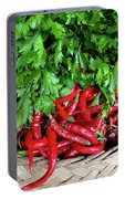 Peppers In A Basket Portable Battery Charger
