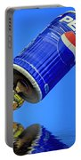 Pepsi Can Hot Air Balloon At Solberg Airport Reddinton  New Jersey Portable Battery Charger