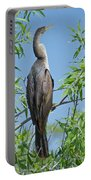 Perched Anhinga Portable Battery Charger