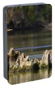 Perched Cormorant Portable Battery Charger