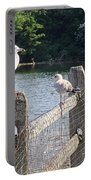 Perched Gulls Portable Battery Charger