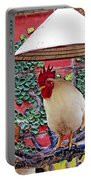 Perched Rooster Portable Battery Charger