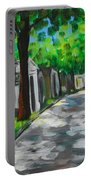 Pere Lachaise Cemetery Portable Battery Charger