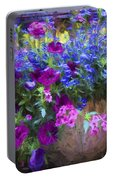Perennial Flowers Y2 Portable Battery Charger