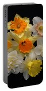 Perfect Ring Of Daffodils Portable Battery Charger