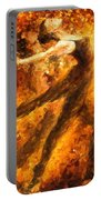 Perfection Of Practice - Palette Knife Oil Painting On Canvas By Leonid Afremov Portable Battery Charger