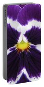 Perfectly Pansy 01 Portable Battery Charger
