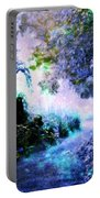 Fantasy Garden Path Periwinkle Portable Battery Charger