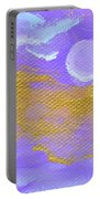 Periwinkle Moon Portable Battery Charger