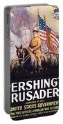 Pershing's Crusaders -- Ww1 Propaganda Portable Battery Charger