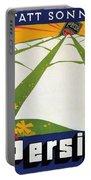 Persil - Statt Sonne - Vintage Advertising Poster For Detergent Portable Battery Charger