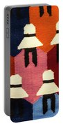 Peru Hat Tapestry Portable Battery Charger
