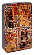 Peru: Tunic Fragment Portable Battery Charger