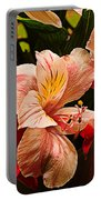 Peruvian Lily Grain Portable Battery Charger