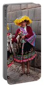 Peruvian Native Costumes  Portable Battery Charger