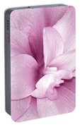 Petals In Pink Portable Battery Charger