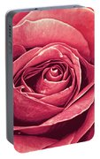 Petals Of A Rose Portable Battery Charger